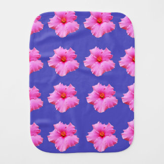 Hibiscus  Summer Breeze,_ Burp Cloth