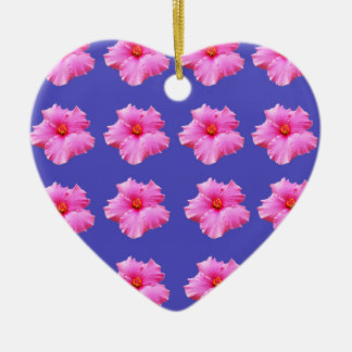 Hibiscus  Summer Breeze,_ Ceramic Ornament