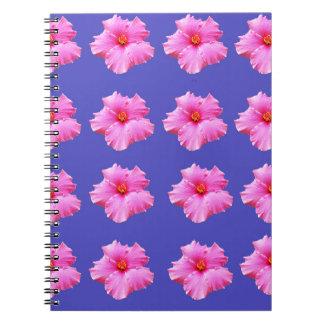 Hibiscus  Summer Breeze,_ Notebook