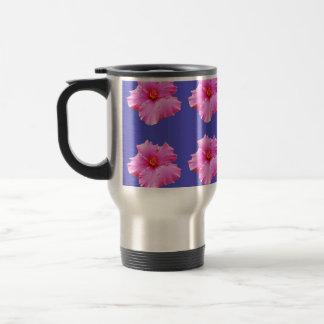 Hibiscus  Summer Breeze,_ Travel Mug