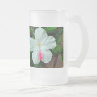 Hibiscus Tall Frosted Mug