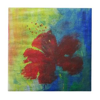 hibiscus tile