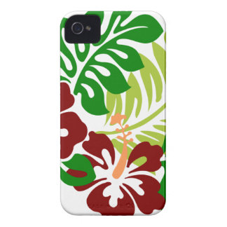 Hibiscus Tropical Flowers iPhone 4 Covers
