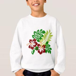 Hibiscus Tropical Flowers Sweatshirt