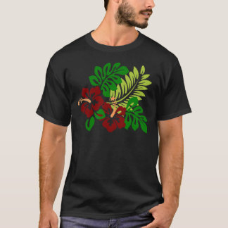 Hibiscus Tropical Flowers T-Shirt