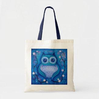 hibou bleu sacs