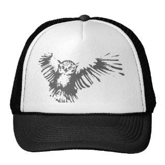 Hibou de vol casquette