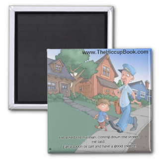 Hiccup Book magnet - The Mailman