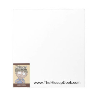 Hiccup Book notepad
