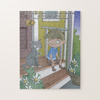 Hiccup Book puzzle - The Cat - 11x14 (252 pcs)