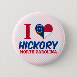Hickory, North Carolina 2 Inch Round Button