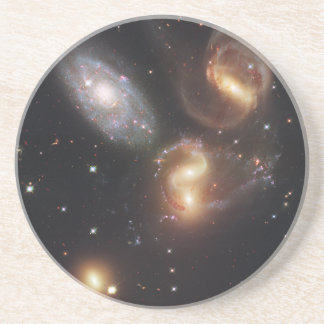 Hickson Compact Group 92 Stephan's Quintet Drink Coaster