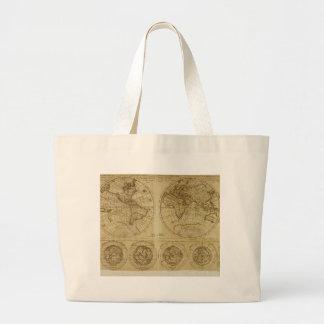 Hictoric World Maps - old World Maps Jumbo Tote Bag