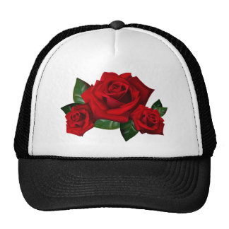 HiD Hi-DEF Red Roses Trucker Hat