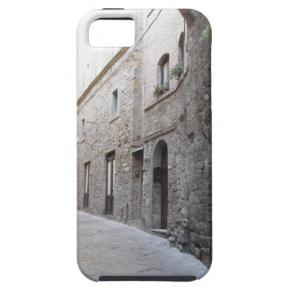 Hidden alley in Volterra village, province of Pisa iPhone 5 Cases