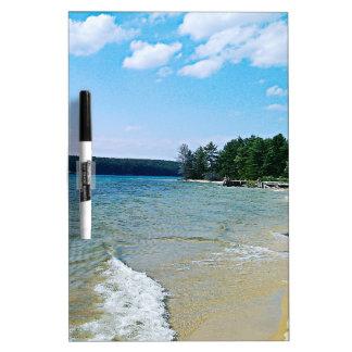 Hidden beach dry erase boards