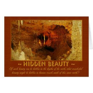 Hidden Beauty Card