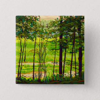 Hidden Beyond the Green 2 Inch Square Button