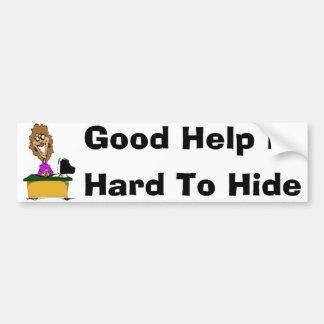 Hidden Bumper Sticker