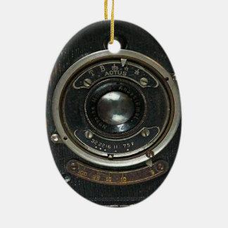Hidden Camera collection Ceramic Oval Ornament