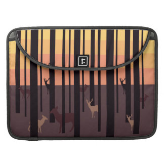 Hidden Deers Mac Pro Case Sleeves For MacBooks