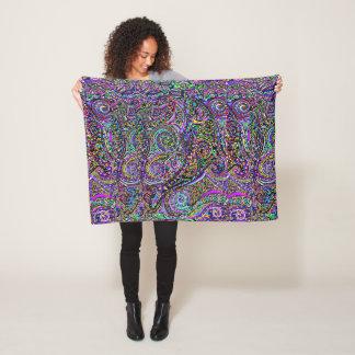 Hidden Dolphin Design Fleece Blanket