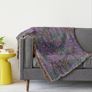 Hidden Dolphin Design Throw Blanket