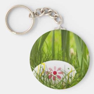Hidden Easter Egg Basic Round Button Keychain