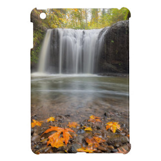 Hidden Falls in Clackamas Oregon fall season iPad Mini Cover
