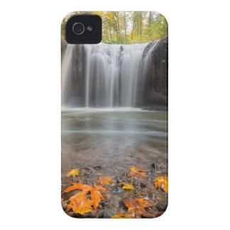 Hidden Falls in Clackamas Oregon fall season iPhone 4 Case
