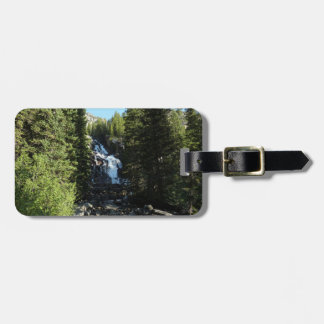 Hidden Falls in Grand Teton National Park Luggage Tag