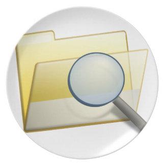 Hidden Files Plate