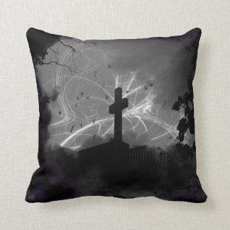 Hidden Grave 16x16 Poly Throw Throw Pillow