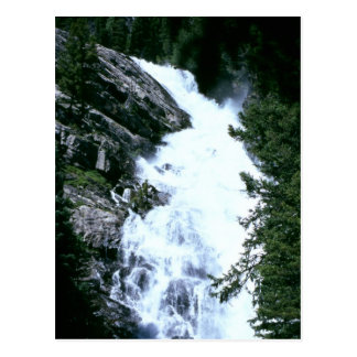 Hidden Lake Falls 1984 Postcard