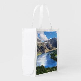 Hidden Lake in Glacier National Park Market Tote