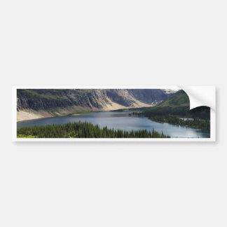 Hidden Lake Overlook Glacier National Park Montana Bumper Sticker