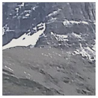 Hidden Lake Overlook Glacier National Park Montana Fabric
