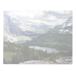 Hidden Lake Overlook Glacier National Park Montana Notepads