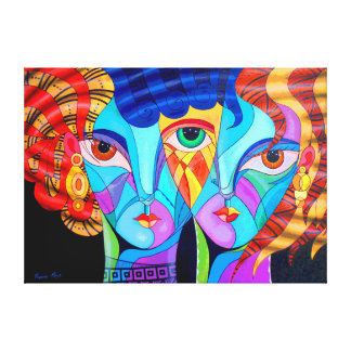 Hidden love canvas print