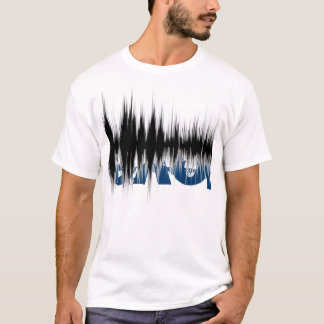 Hidden Love Sound Wave T T-Shirt