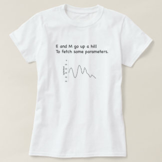 Hidden Markov Model EM T-Shirt