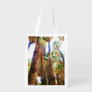 Hidden Oasis Reusable Grocery Bag