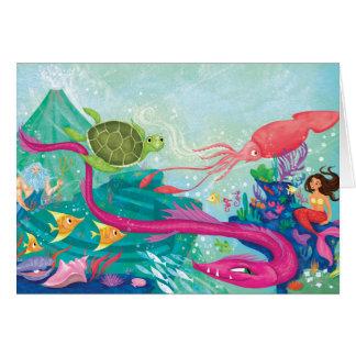 Hidden Ocean Treasures Card
