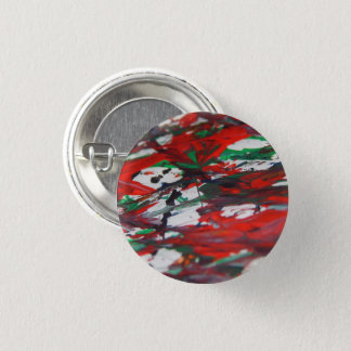 Hidden of faces 1 inch round button