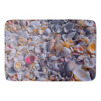 Hidden Sea Shell Colors Bath Mat