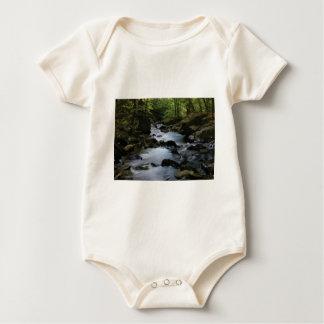 hidden stream in forest baby bodysuit