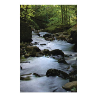 hidden stream in forest stationery