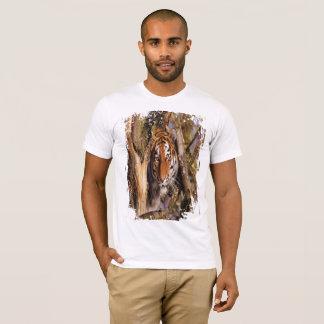 Hidden Tiger! (Grungy Look) T-Shirt