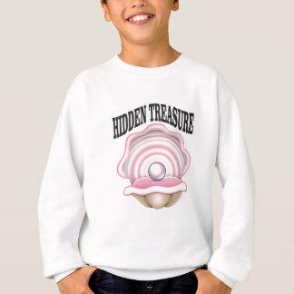 hidden treasure clam sweatshirt