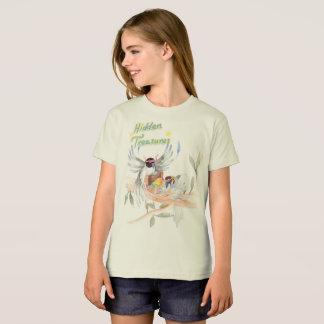 """Hidden Treasures"" Girls' Organic T shirt"